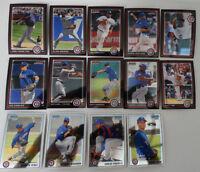 2010 Bowman Chrome Texas Rangers Team Set 14 Baseball Cards