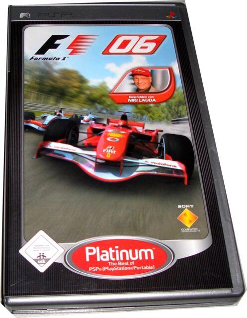 F1 06 (Sony PSP, 2007) Platinum Playstation Portable Spiel