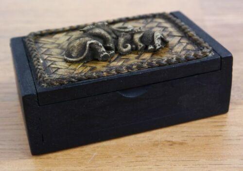 Schmuckschächtelchen Geschenkekästchen Dekoschachtel Holzkästchen