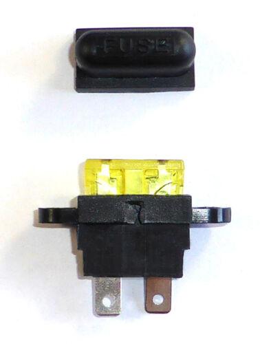 autoboot 10 unid braguitas spritzwassergeschützter portafusible para fusible plano
