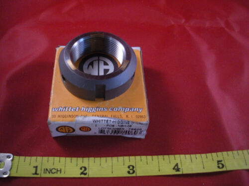 Whittet Higgins NSH-06 Bearing OD 1.750 Width 0.560 Shoelok Lock Nut Screw 10-24