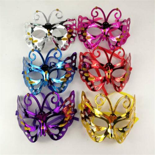 Venetian Carnival Plastic Butterfly Mask Halloween Party Masks Masquerade MaskOJ