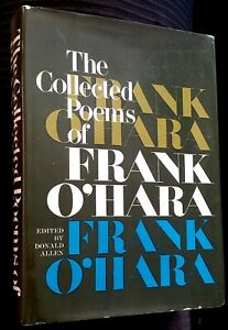 Details About 1979 Collected Poems Of Frank Ohara Association 4th Hc W Dj John Ashbery