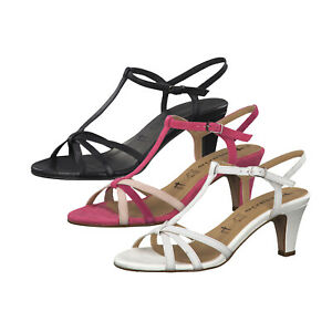 Details zu Tamaris 1 28360 22 Riemchen Sandalen Leder Sandaletten