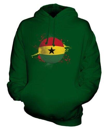 Ghana Fußball Unisex Kapuzenpulli Top Geschenk Weltmeisterschaft Sport