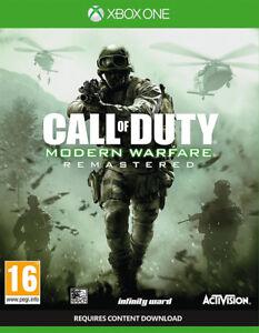 CALL-OF-DUTY-Modern-Warfare-REMASTERD-Xbox-One-Nuevo-y-precintado
