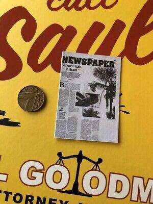 THREEZERO brba mejor llama a Saul Goodman periódico Suelto Escala 1//6th