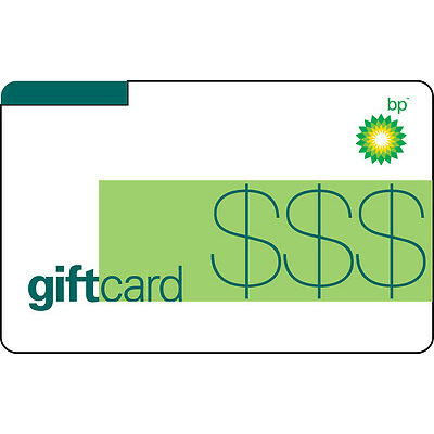 $100 BP Gas Gift Card For Only $93! - FREE Mail Delivery