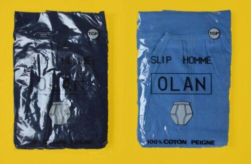 Lot de 2 slips kangourou Olan vintage brief T5 XL