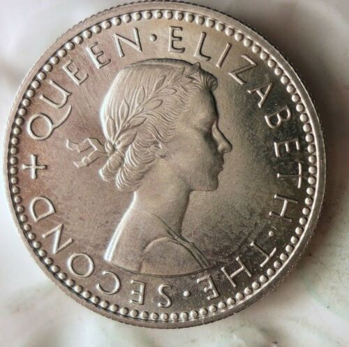 AU//UNC FREE SHIPPING BIN #GGG From Mint Set 1965 NEW ZEALAND 3 PENCE
