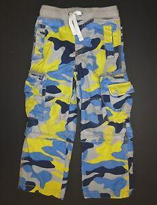 f8be4590d Mini Boden boys Vintage Zip Off techno cargo pants camouflage camo ...