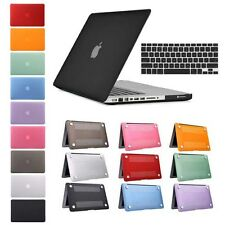 Rubber Coated Hard Plastic Case Cover Keyskin Macbook Air 11 13 Pro 13 15 Retina