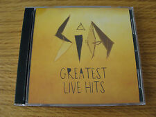 CD Double: SIA : Greatest Live Hits : Limited Edition