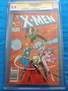 Uncanny-X-Men-218-Marvel-CGC-SS-9-4-NM-Signed-by-Art-Adams-Ann-Nocenti