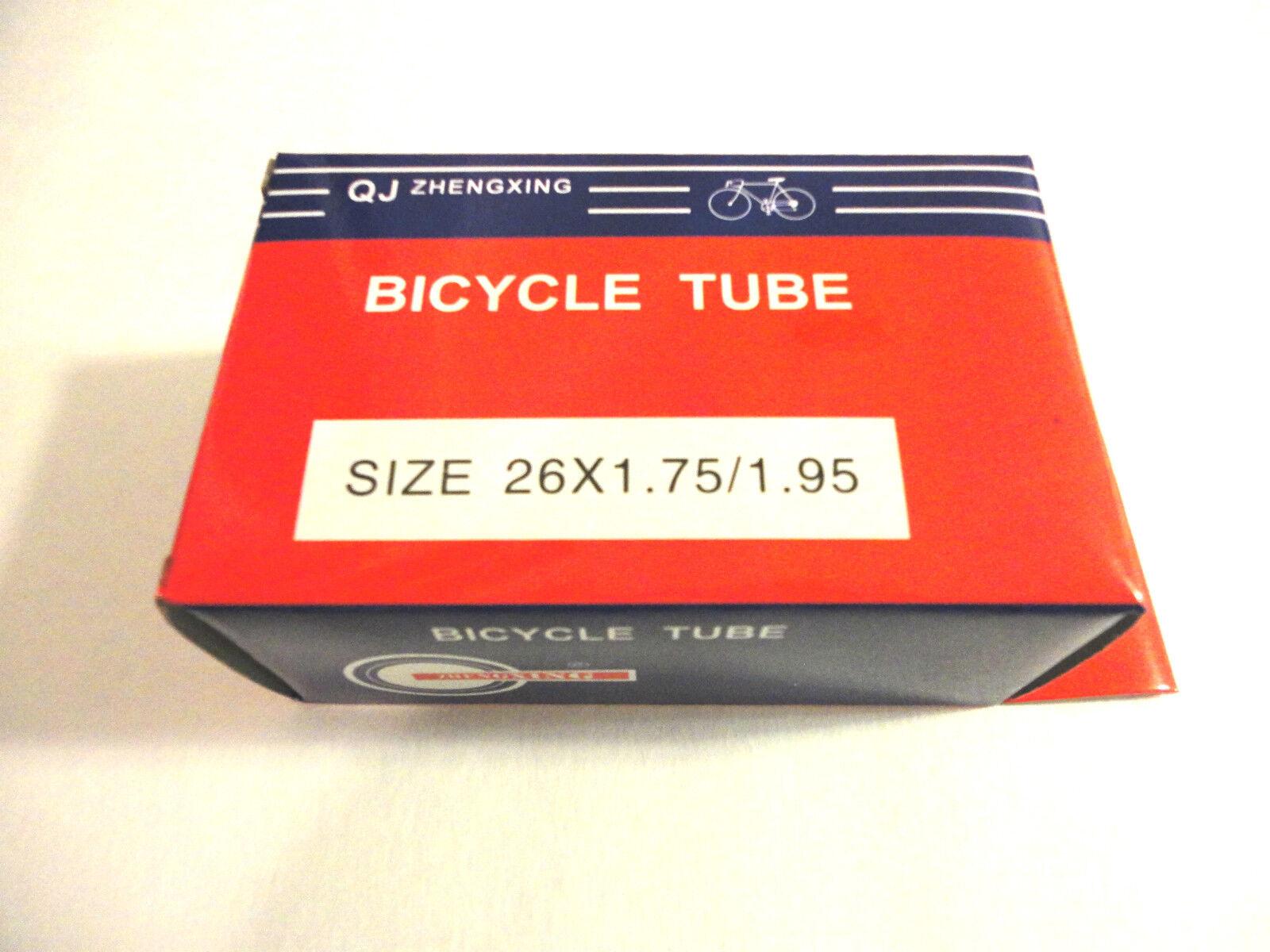 26  x 1.75   1.95  Bicycle Tube Interior Bike Tire Inner tube 26 inches new