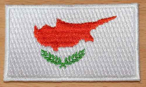 CYPRUS Cypriot Country Flag Embroidered PATCH