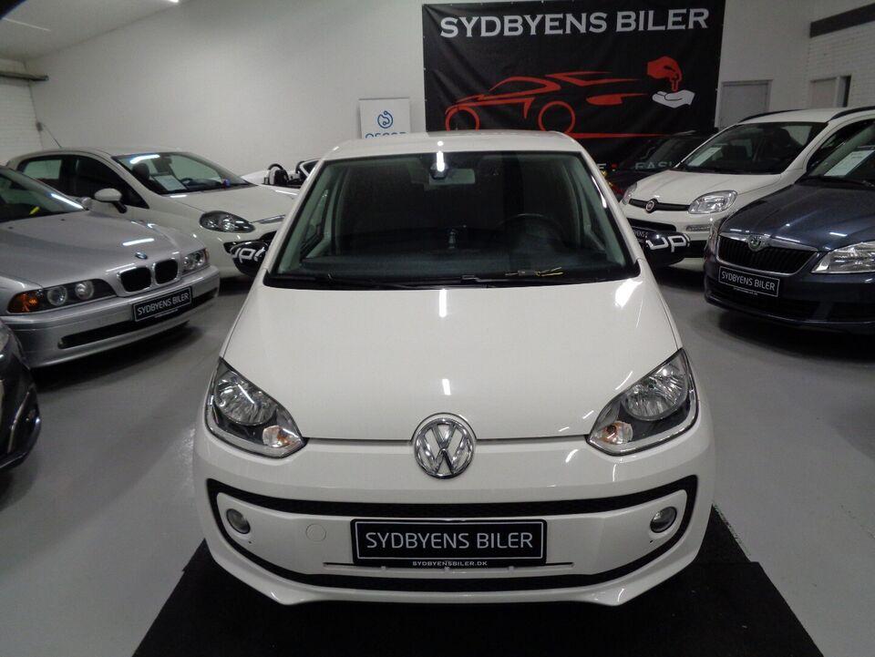VW Up! 1,0 60 Life Up! BMT Benzin modelår 2014 km 107000 Hvid