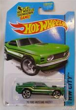 1970 Ford Mustang Mach 1 1/64 Scale Model Car From HW City by Hot Wheels
