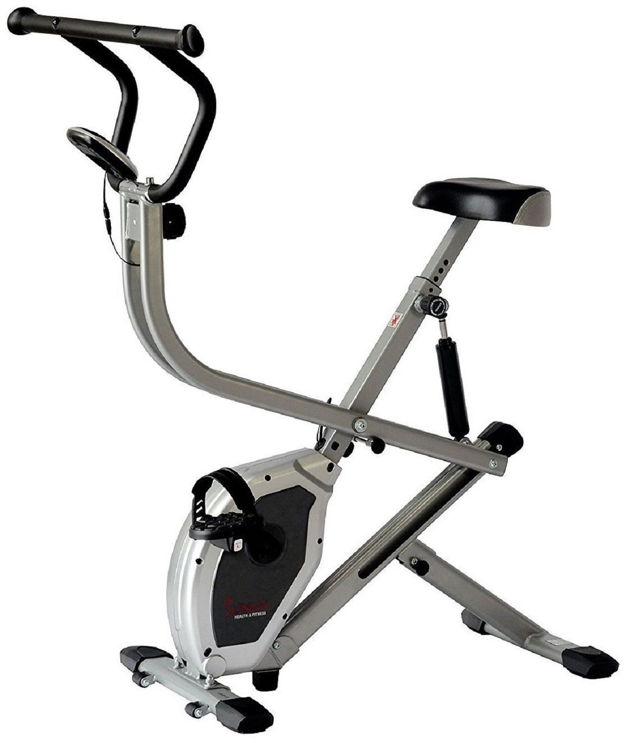 Sunny Dual Action Rider Stationary Cycling Upright Row