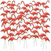 Southern Patio 27 In Pink Flamingo 50 Pack Garden Decoration Outdoor Yard