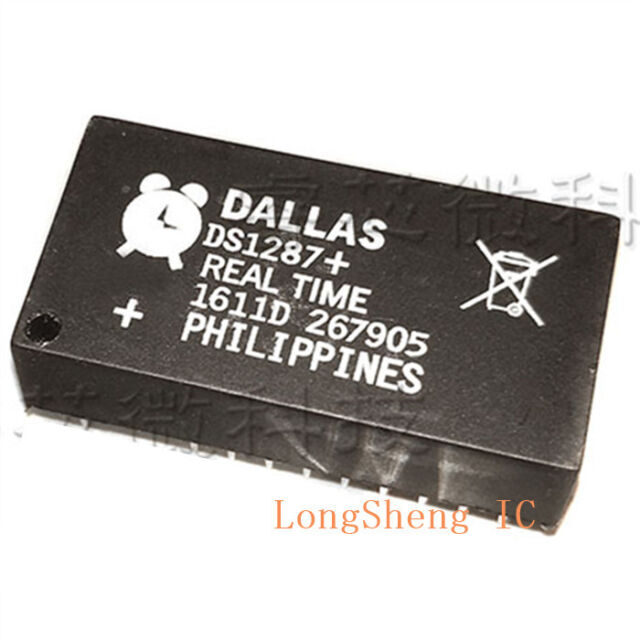 5 pcs DS1287A Integrated Circuit DS1287 DS1287+ DIP18 new