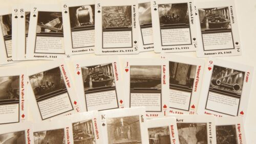 NEW in plastic RECLAMATION Managing Water in the West Playing Face Poker Cards
