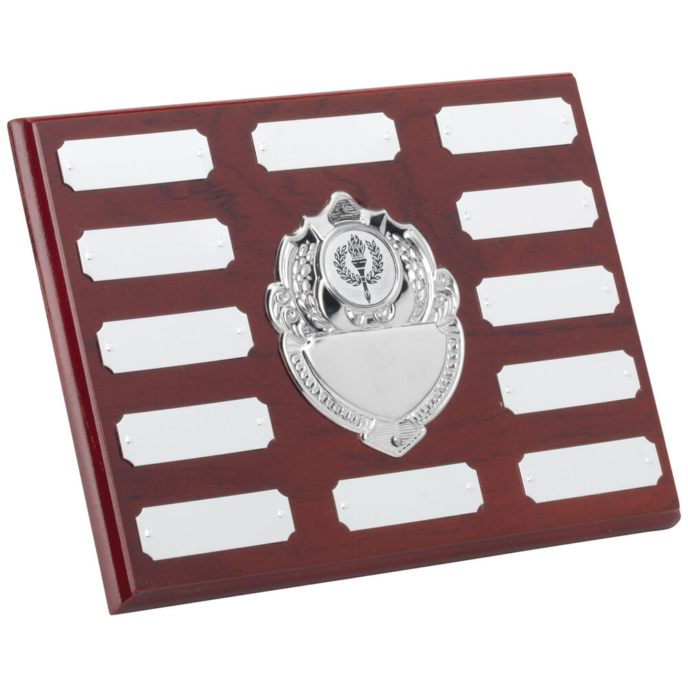 Annual,Perpetual Wooden Plaque,Shield 203mm(w) x 152mm(h),(8 x6 ) TRS95A td