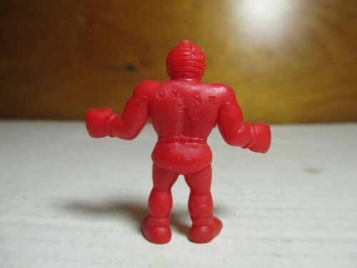 "80/'s M.U.S.C.L.E Men Kinnikuman Red Color 2/"" Mr America Figure #144 Mattel"
