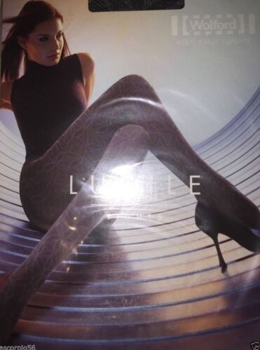 Details about  /Wolford Lucile Tights Pantyhose Strumpfhose 11164 *Rare* Black-Chine S