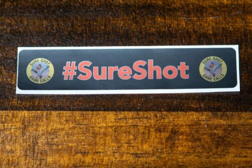 New!!! Sure-Shot Barrel Sticker
