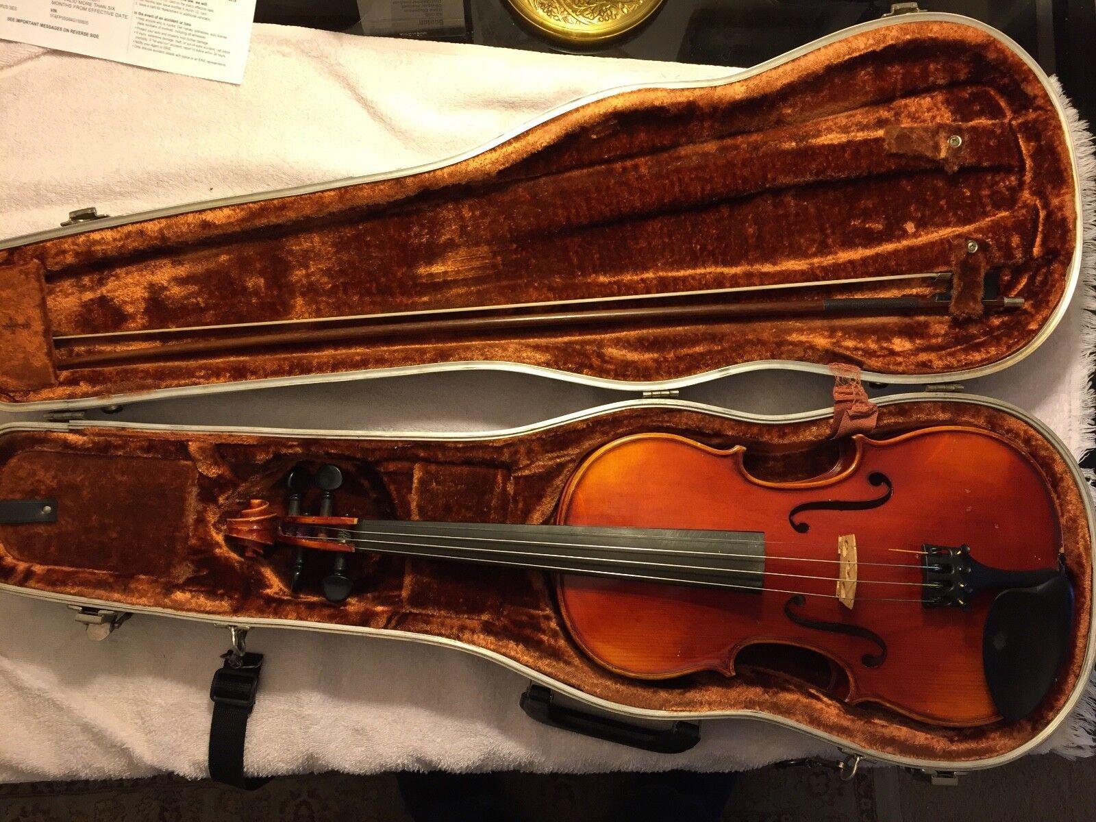 John Juzek 4 4 violin and Richard Geipel Bow