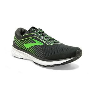 BROOKS-GHOST-12-Scarpe-Running-Uomo-Neutral-EBONY-GREY-GECKO-110316-094