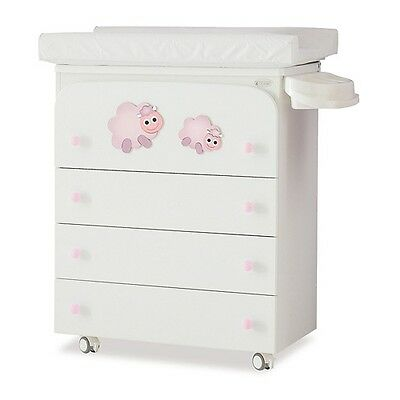 Azur Bagnetto Fasciatoio Dolce Sogno Pecorelle Lilla 191245 A Great Variety Of Models Nursery Furniture Baby
