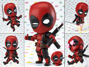 Nendoroid-662-Marvel-Deadpool-Orechan-Edition-Action-Figure-Figuren-10cm-NoBox