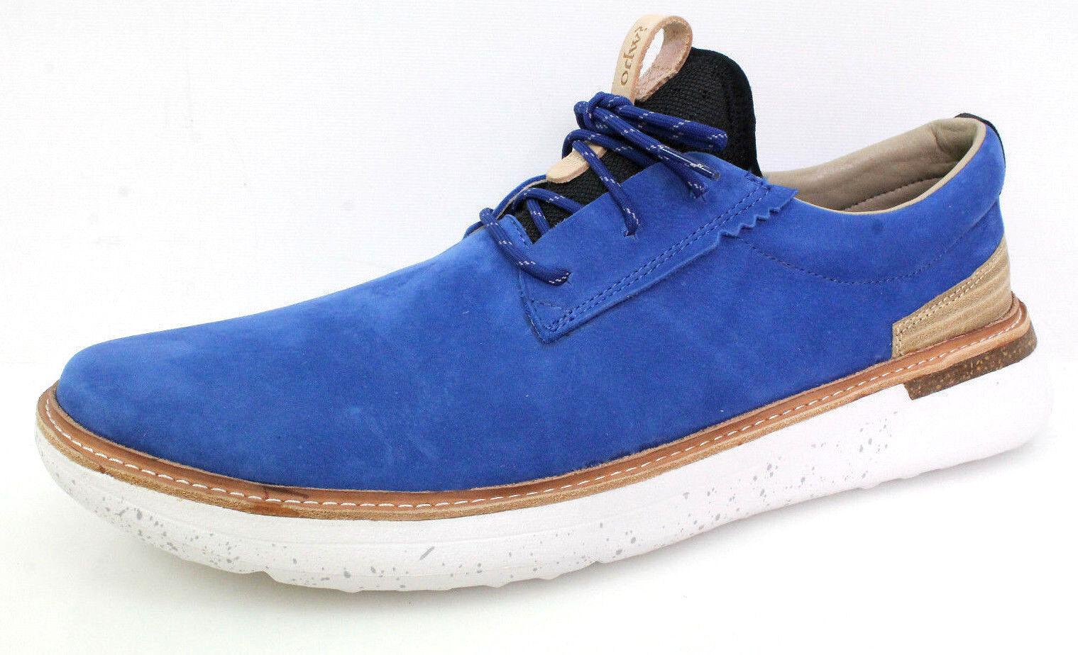 OHW? Herren Sneakers Lawes Warme Sportliche Leder Schuhe Gr 46 Blau Neu