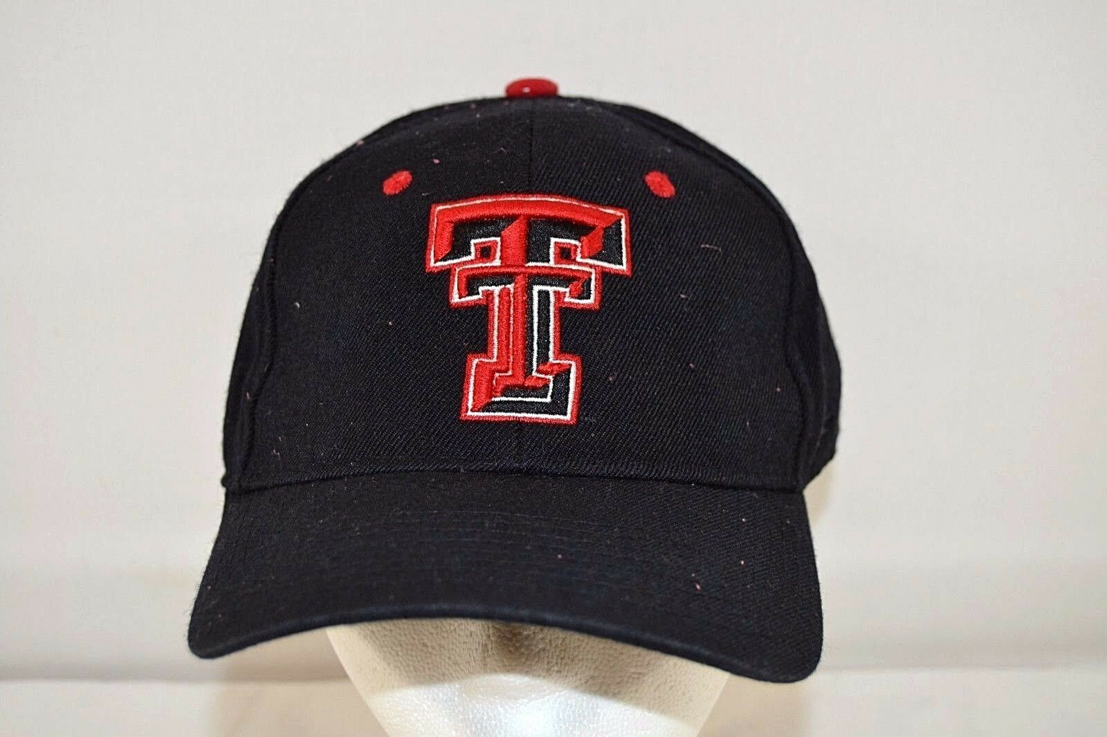 Texas Tech Black/Red Fitted Baseball Cap Fitted Black/Red 7 1/4 9fd00d