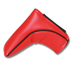Red-Putter-Magnetic-Cover-Golf-Headcover-for-Odyssey-Scotty-Cameron-Blade-New