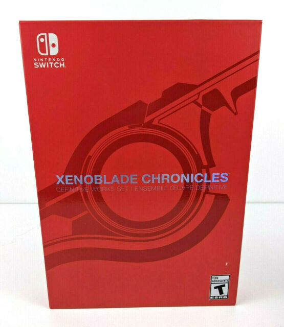 XENOBLADE CHRONICLES: Definitive Works Set (Switch) NEW & SEALED