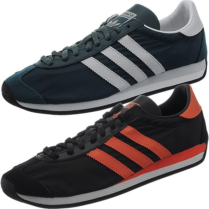 Adidas country og señores low-Top zapatillas azul o negro casual nuevo