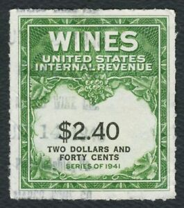 #RE153 $2.40 Wines, Used [2] **ANY 4=FREE SHIPPING**