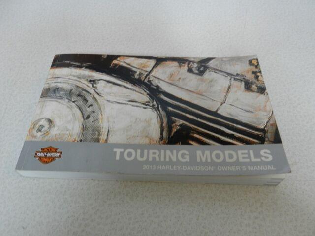 Harley Davidson 2013 Touring Owner Manual