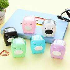 Kawaii Animal Pig Sweet Pencil Sharpener Korean Kids School Supplies Stationery