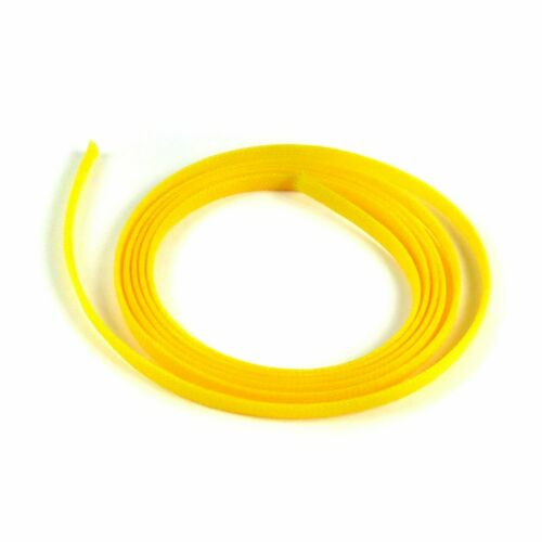 50 Feet Total rat stereo street Yellow Engine /& Harness Wire Loom Variety Pack
