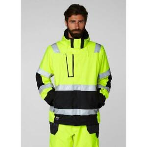 2c32e28d259 Helly Hansen Mens Workwear Outdoor Alna Hi Vis Winter Jacket Coat ...
