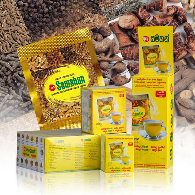 Link SAMAHAN Ayurveda Herbal Tea Natural drink Fast remedy for Cold flu 1