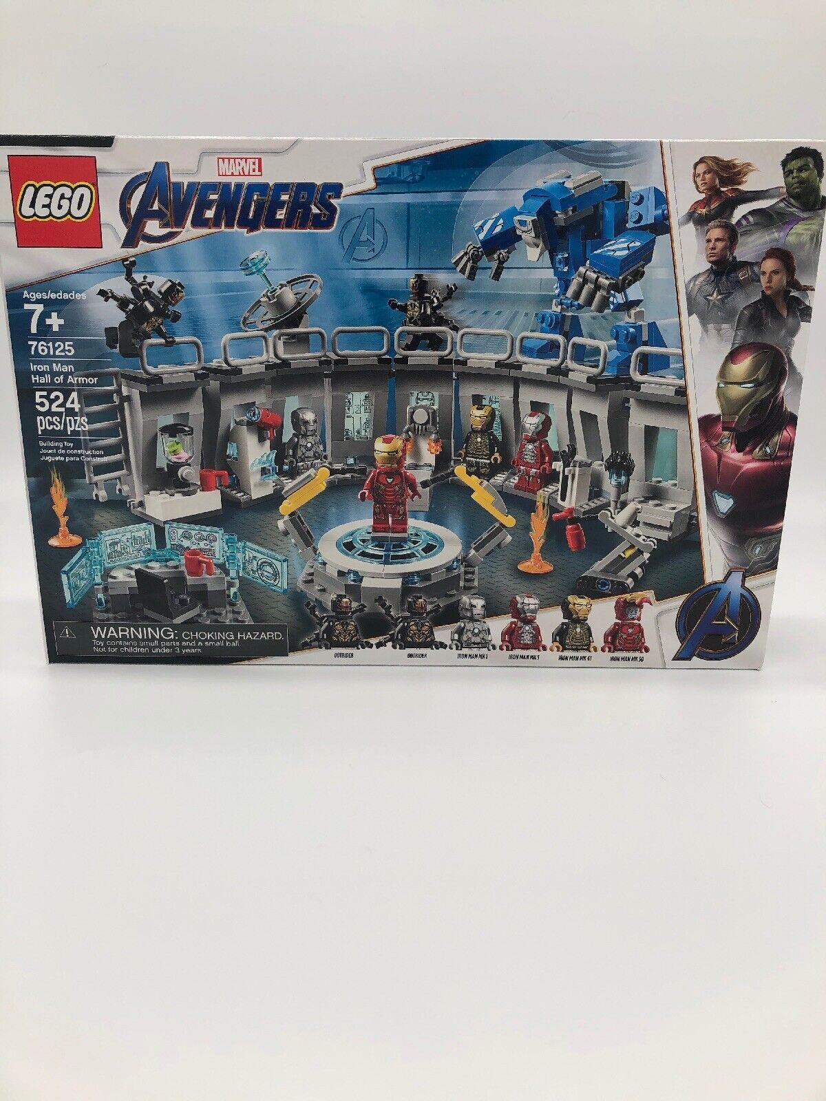 LEGO Marvel Super Heroes Iron Man Hall of Armor Set (76125)