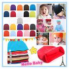 NewBorn Unisex Cute Baby Boy/Girl Kids Cotton Beanie Hat Soft Toddler Infant Cap