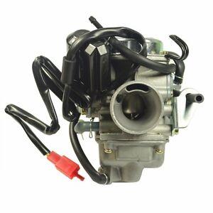 Details about Carburetor Carb For Honda GY6 150 CC ATV 125 PD24J Scooter Go  Kart Wildfire 24mm