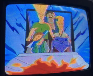 The Head / Daria MTV VHS Sold As Blank With Commercials Prerecorded Oddities Tv