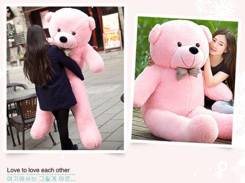 80Cm-250Cm Giant Teddy Bear Soft Toy X/'Mas Gift Bow Tie Big Cute Plush Stuffed